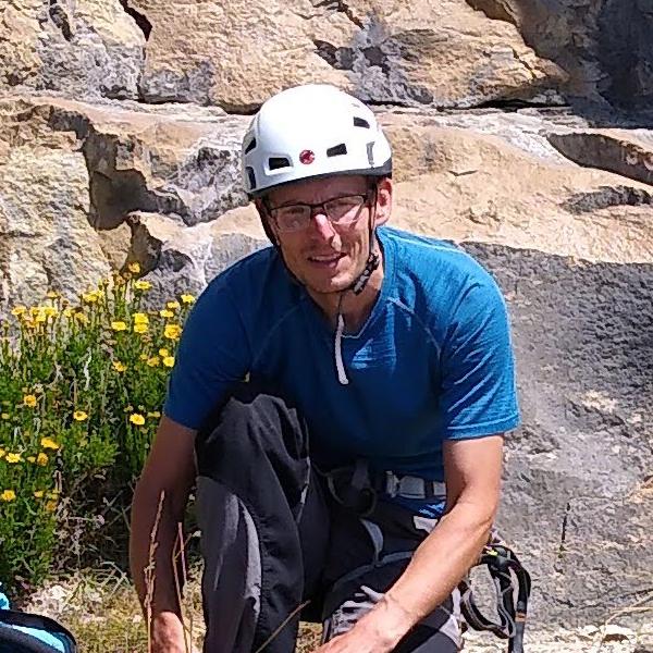 Matt Lovesey - Sport climbing at Dancing Ledge Romsey Climbers