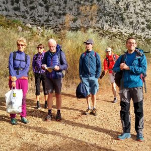 El Chorro crag Romsey Climbers