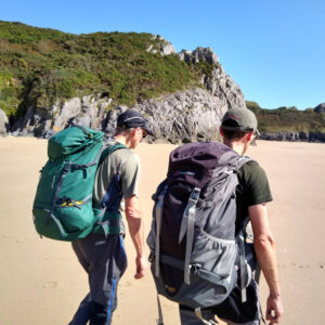 Romsey Climbers at Gower peninsula Trad meet