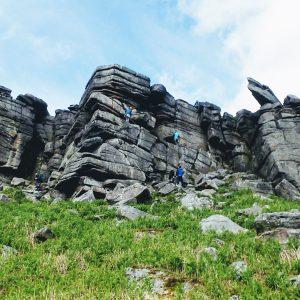 Stanage trad climbing RoCs