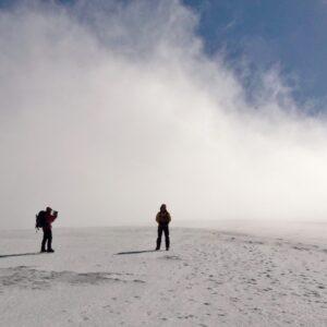 Romsey Climbers winter scrambling
