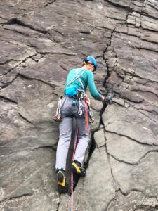 Baggy Point climbing meet with Romsey Climbers